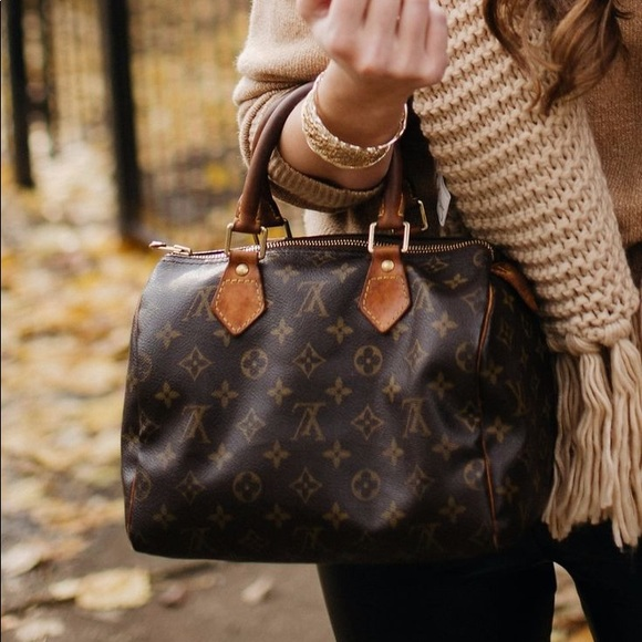 Image result for louis vuitton speedy 25 monogram outfit